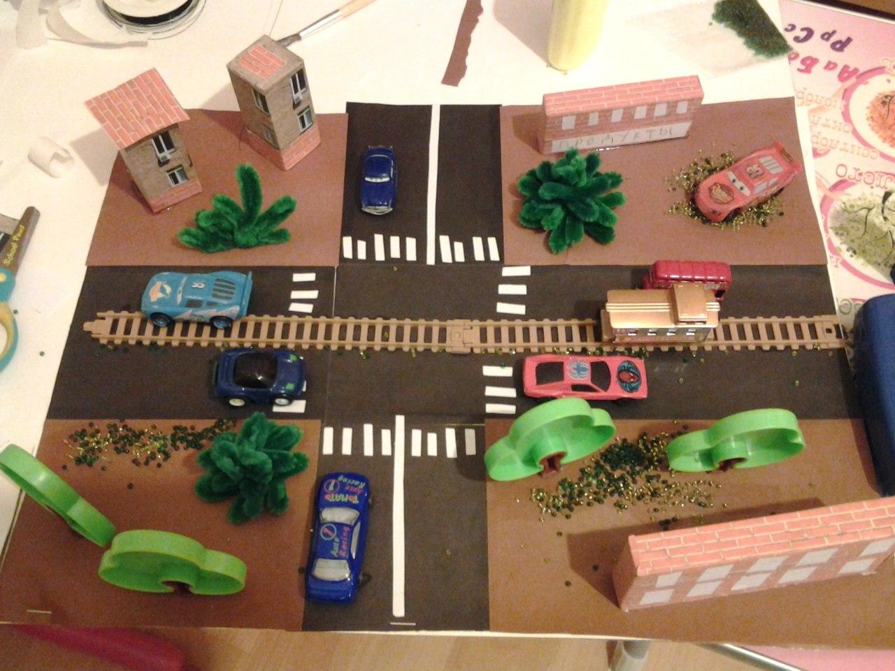 Поделки на тему дорожные правила